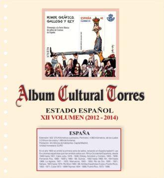 volumen XII estado espanol